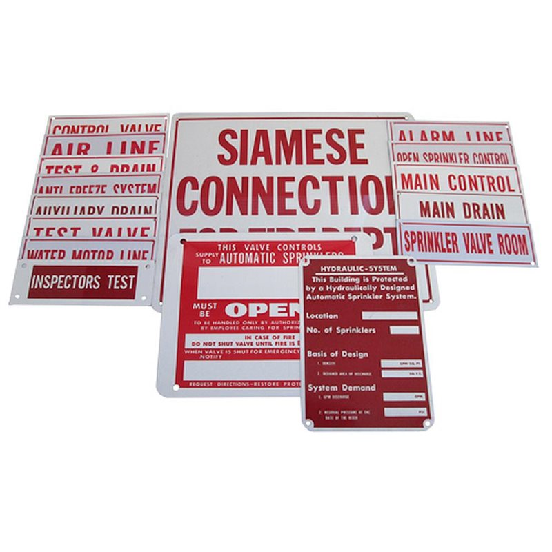 Identification Signs & Decals