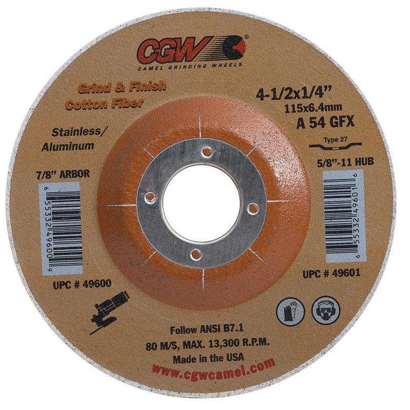 Cotton Fiber Grind Wheel
