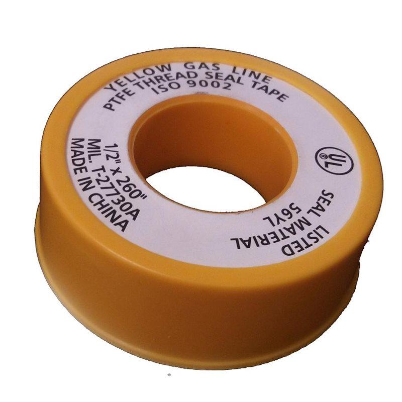 Yellow Gasline Tape