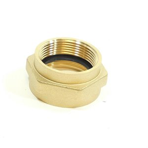 "1-1 / 2"" Adapter Brass Female NPT x Female NST (54)"