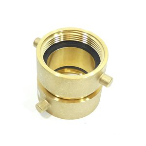 "2-1 / 2"" Adapter Brass Female NST Swivel x Female NST Swivel Connection (24)"