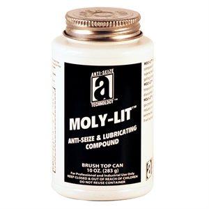 Anti-Seize Moly-Lit 11oz Brush Top Graphite 2400°F (12)