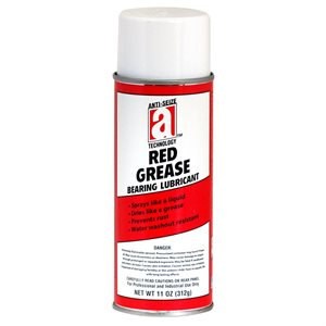 Red Grease 11.25oz Aerosol Can Bearing Lubricant (12)