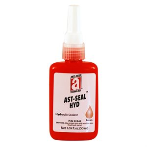 AST-Seal Brown 542 Anaerobic Hydraulic Thread Sealant 50ml Bottle (6)