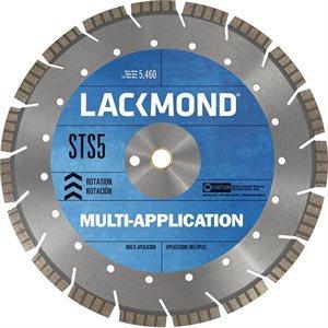 """16"""" Diamond Blade Premium Multi-application .400 Wet / Dry Cut .125 1"""" Arbor"""