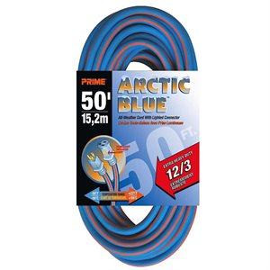 Extension Cord 50' 12 / 3 Blue EXTREME All-Weather Round UL Listed