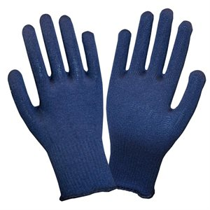 Winter Liner Gloves Blue Thermax (25) Min.(1)