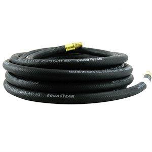"""Air Hose Goodyear Rubber 3 / 8""""x 100' Black"""