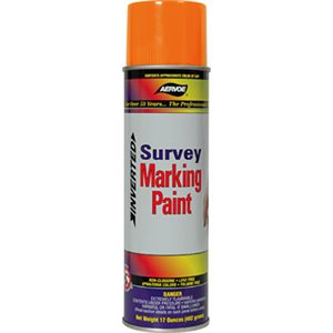 Orange Flo. Marking Paint Solvent Based (240) Min.(12)