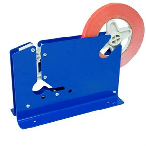 "Bag Sealer use with 3 / 8"" Tape Blue Metal Construction"