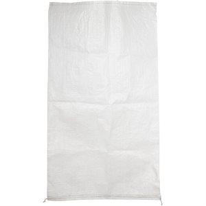 """Bag Woven Polypropylene White 25""""x 40"""""""
