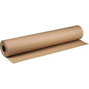 """Kraft Paper 60"""" 40lb 1225' Roll (25) Min. (1)"""