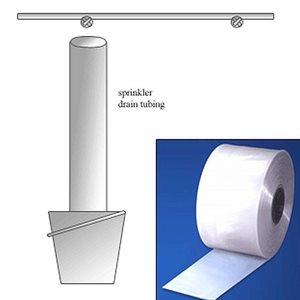 """Plastic Tubing 4""""x 1500' Clear 4mil"""