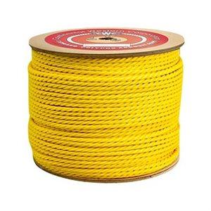 "1 / 4""x 1200' Yellow Poly-Pro Rope (4) Min.(1)"