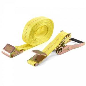 """2""""x 27' Flat Hook Ratchet Tie Down Strap PCC 10,000lbs (10) Min.(1)"""