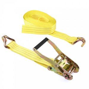 """2""""x 27' J Hook Ratchet Tie Down Strap PCC 3335lbs (10) Min.(1)"""