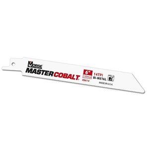 "6"" 10tpi Wood Master Cobalt Reciprocating Blade MK 50pk (3) Min.(1)"
