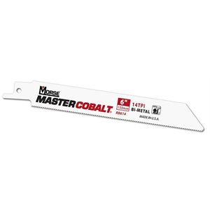 "6"" 10 / 14tpi Wood / Metal Master Cobalt Reciprocating Blade MK 50pk (3)"