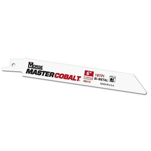 "6"" 24tpi Metal Master Cobalt Reciprocating Blade MK 50pk (3)"