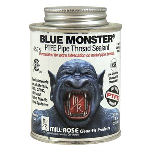 Blue Monster 8oz Brush Top Thread Sealant w / PTFE (24) Min.(12)