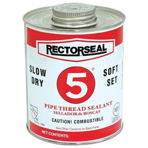 Pipe Sealant RectorSeal NO. 5 4oz (24) Min.(12)