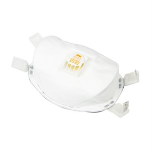3M Dust Mask N100 8233 With Valve Priced Each (20) Min.(20)
