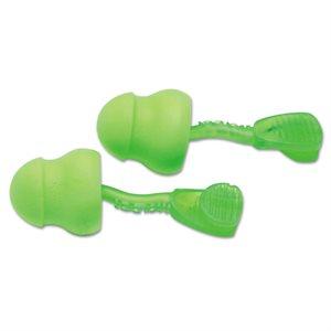 Ear Plugs Moldex Glide 30db Green Foam No Cord 100 Pair Box (8) Min. (1)