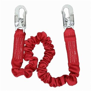 Lanyard 3M PROTECTA 6FT Stretch Shock Standard snaps on end 1340101 (10)