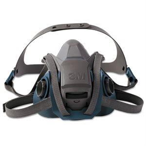 3M Half Facepiece 6500 Series Medium Respirator (10)