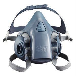 3M Half Facepiece 7500 Series Small ULTIMATE Respirator (12) Min. (1)