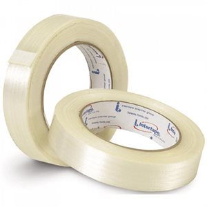 "3 / 4""x 60yd Filament Strapping Tape 300lb High Strength BOPP (48) Min.(12)"