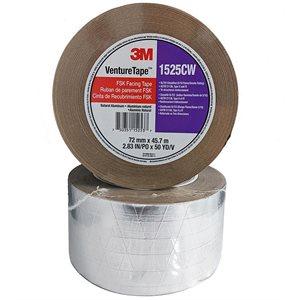 "FSK 3M 1525CW 3""x 50yd Foil / Scrim / Kraft Tape (16)"