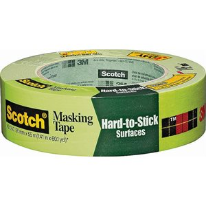 "3M Hard-to-Stick Surfaces 1-1 / 2""x 60yd Green #2060 Masking Tape (24) Min.(24)"
