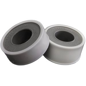 "1 / 2"" x 520"" White .08 HD Thread Seal Tape (500) Min.(100)"
